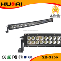 CE emark FCC ISO9001 car auto parts curved light bar 4x4 off road lights ip67 10-30v dc truck led light bar