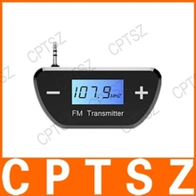 Hands-free talking for smart phones Mini FM Transmitter with LCD-Display