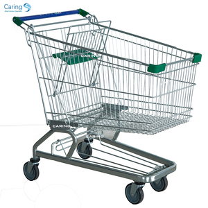 180 Liters Wholesale grocery shopping trolley with seat prices