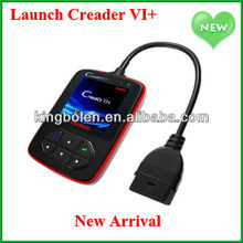 OBD2 AUTO SCANNER ORIGINAL Creader 6 code reader LAUNCH CREADER VI+ Update on official website