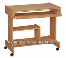 movable school table computer study desk furniture(DX-222)
