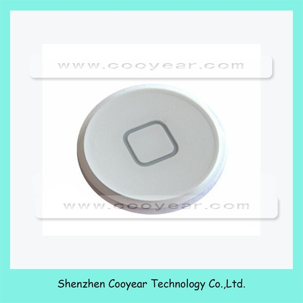 New Home Button Key White Replacement For Apple iPad 2