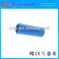 Lithium Ion 18650 3.7V 2200mAh cylindrical rechargeable battery with tab