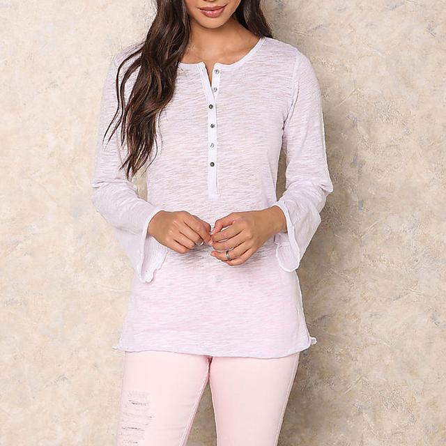 wholesale jersey knit fabric burnout top women plain white burnout t shirt