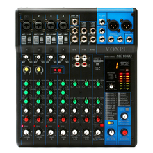 Chinese supplier Sound Mixer MG10XU 10 channel mixer audio with USB