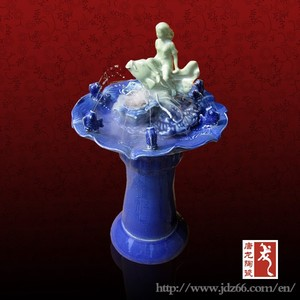 Antique indoor fountain mist fountains humidifier from China