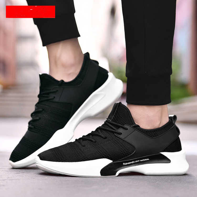 2018 new arrive sports sneakers China suppliers PVC footwear fashion casual shoe men's running shoe