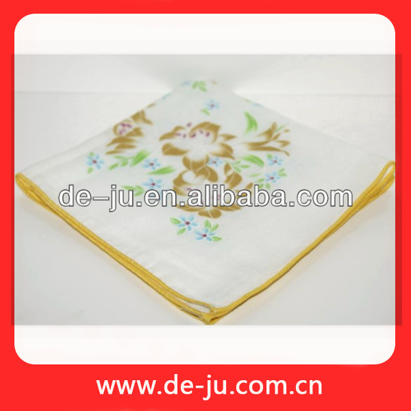Wholesale China 100% Cotton Ladies Handkerchief