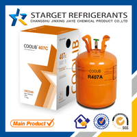 New mixed Refrigerant R407c, Auto refrigerant 99.8% Purity made in changshu
