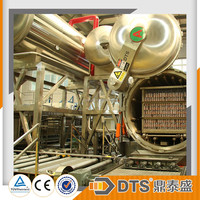 automatic water spray sterilization retort for canned beef and fish sauce
