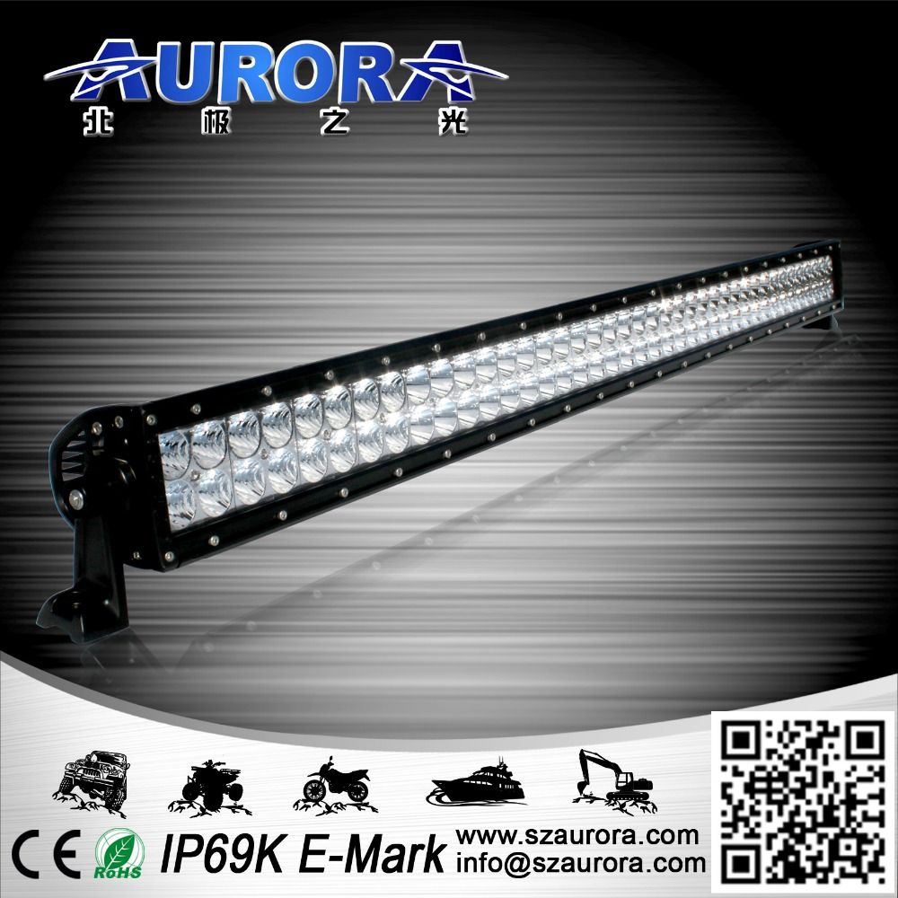 Aurora Hot Sell 40'' 400W dual row led off road light bar off road auto accessories