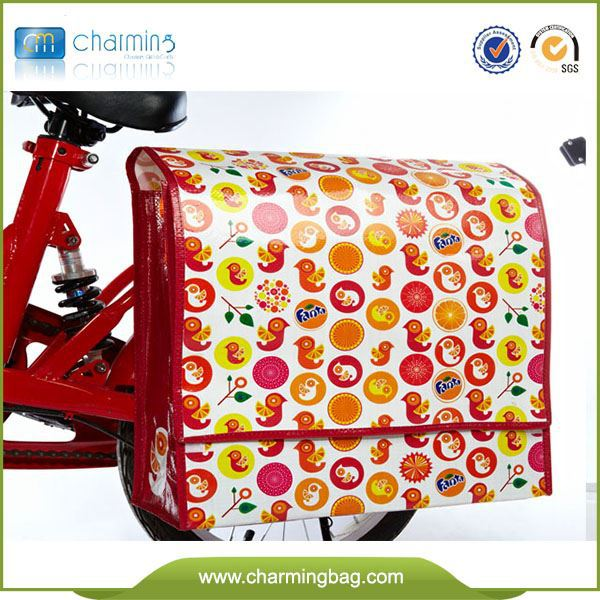 Recycled pp woven bike accessory