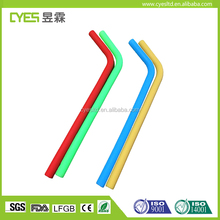 2017 promotional wholesale low price Reusable silicone straw