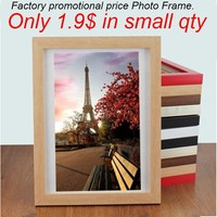 Radiata pine material wooden factory promotional photo frames latest designs