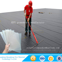 ISO HDPE Impermeable Geomembrane For Pond