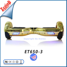 New products 2016 Ecoiou chrom scooter electric,two wheel smart balance wheels with Free Shipping to Unite States