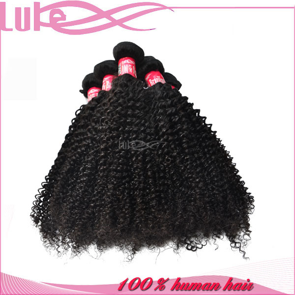 100% Direct Factory Price Remy Double Weft Cheap Tight Afro Virgin Brazilian Kinky Curl Hair Weft