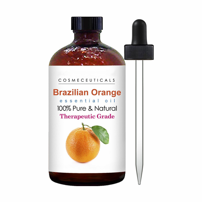 Private Label 100% Pure Premium Quality Orange Essential Oil For Skin & Hair