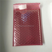 Shock Resistance mailer Visible Red Shield Bubble Bag Electric component