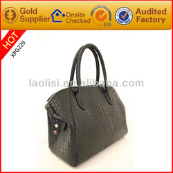 Alibaba china supplier crocodile handbag leather designer handbags 2014