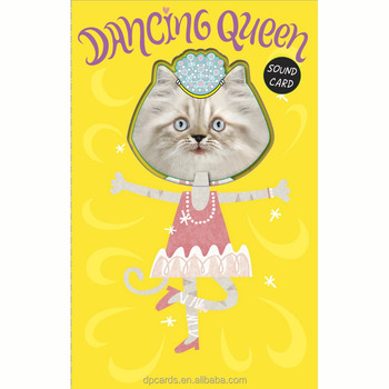 Funny kids birthday greeting card dancing happy birthday card