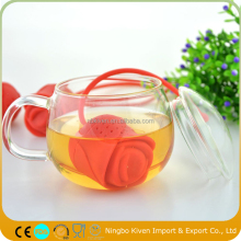 Rose Shaped Tea Infuser Silicone/Silicone Tea Bag