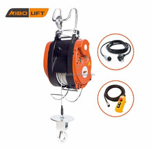 Electric mini winch 220V trolley hoist portable winch