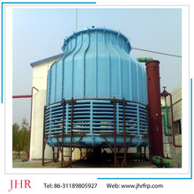 Ultra low noise, counter flow cooling tower