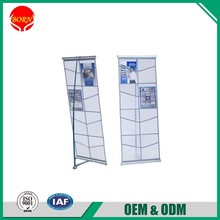 Strong Wind resistance Christmas use China Manufacture Metal Magazine Stand