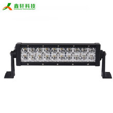 hot sale car accessories 60w off road led light bar 12 inch curved