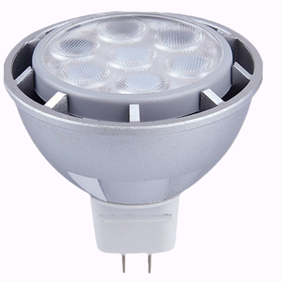 Chinese spotlight New design silver 5w mr16 high power led spot light 3w 4w 7w ac dc 12v indoor restaurant