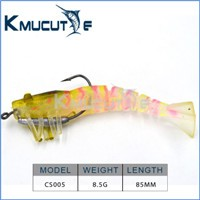 Fishing tackle artifical plastic soft lures Sinking vibe Bass hard bait 65mm 16g 45m 13g