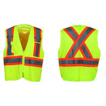 S-5XL high visibility reflective <strong>safety</strong> construction vest