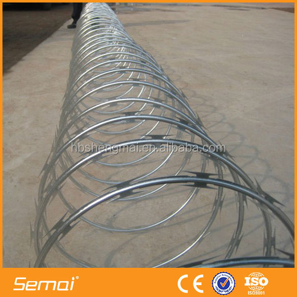 online shopping alibaba com low price BTO - 22 CBT - 65 barbed wire concertina razor wire razor blade barbed wire