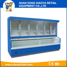 Little Duck used upright commercial glass door display freezers CE