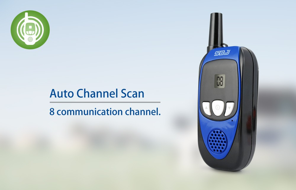 portable two way radio compact size walkie-talkie