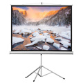 Factory Price of 100 Inch tripod projector projection screen 4:3 aspect ratio