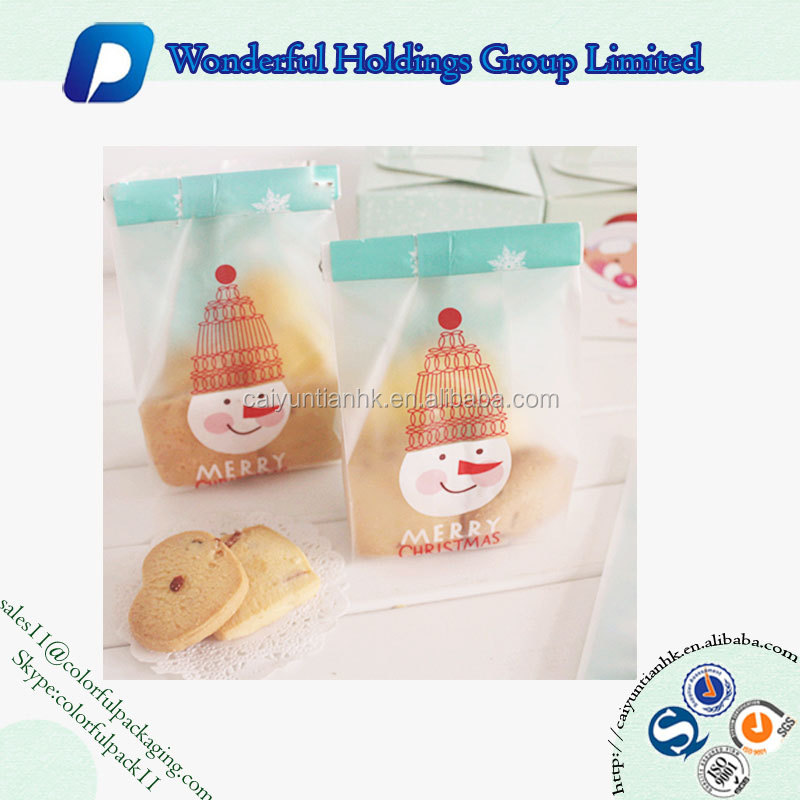 new design moisture proof food grade bag side gusset bag for biscuit