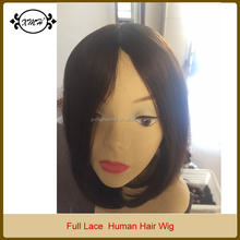2015 100% Remy Human Hair Full Lace Wig Handmaded Wigs for Lady