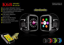 2015 smart watch phone support Android and IOS, fashion design ,compact and slim, business and Casual smart phone