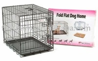folded pet cages for dogs
