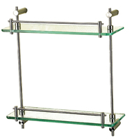Wall-mounted Bathroom Lucite Towel Holder