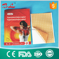 100% natural Original manufacturer adhesive pain relief plaster for relieving body pains