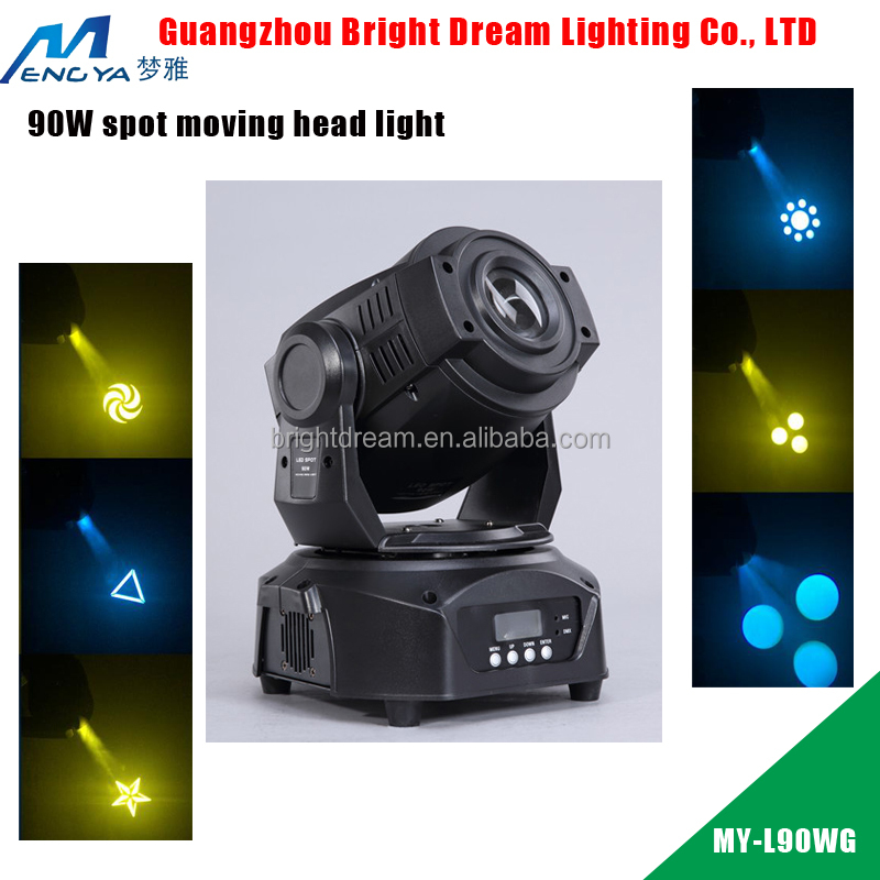 Professional led 90W spot moving head stage lighting equipments