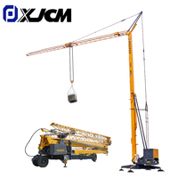 XJCM Foldable 1Ton 2 Ton 3Ton 4Ton Mini Mobile Self Erecting Tower Crane