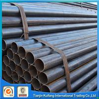 High quality black iron steel pipe sch40 weight