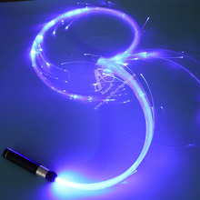 Dance Props Atmosphere Whip Light Rechargeable Mini Fiber Optic Light For Night Club Party