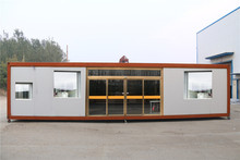 luxury prefabricated light light real estate and container shop house manufacture
