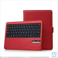 Detachable Wireless Bluetooth ABS Keyboard PU Leather Smart Cover for Apple iPad 5 iPad Air Case--P-IPD5CASE069