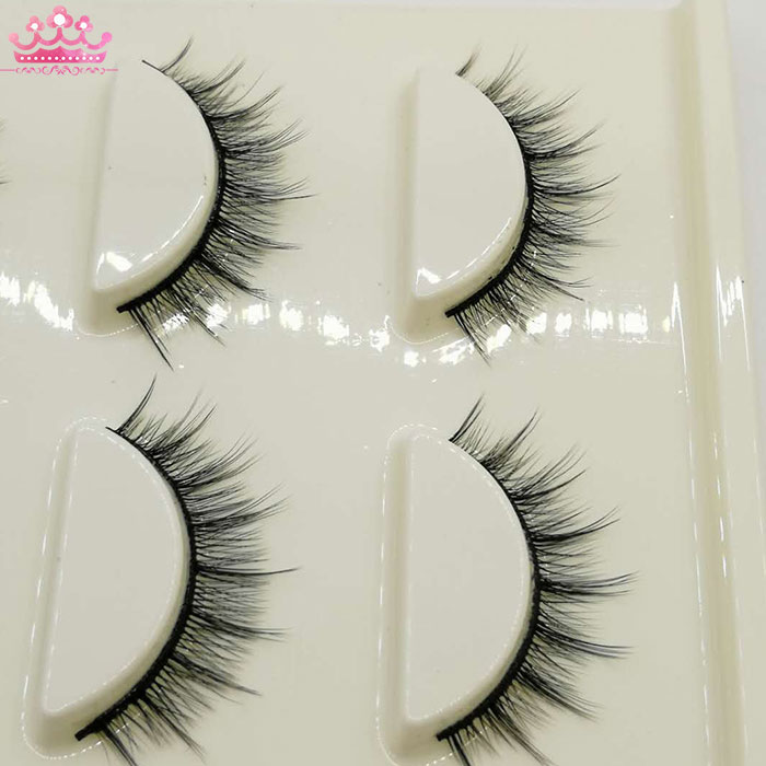 High quality perfect 3 pair magnetic eyelashes natural long lashes makeup tools
